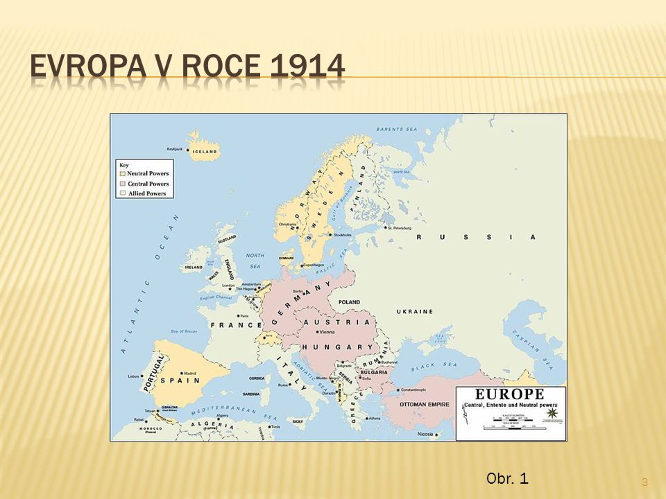  Obr.1:Soubor:Europe 1914.jpg - Wikipedie.In: Wikipedia: the free encyclopedia [online].