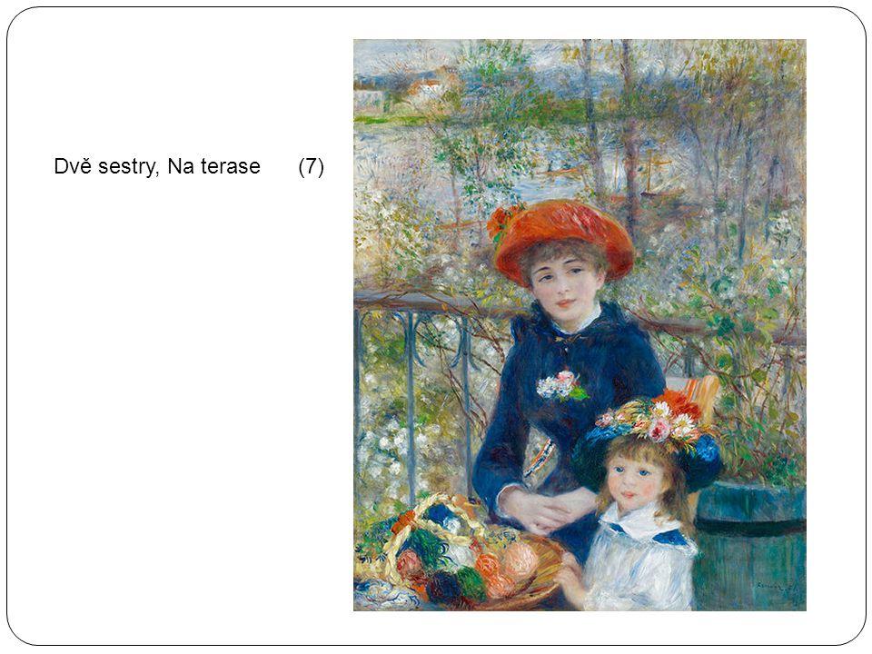 Dvě sestry, Na terase (7)