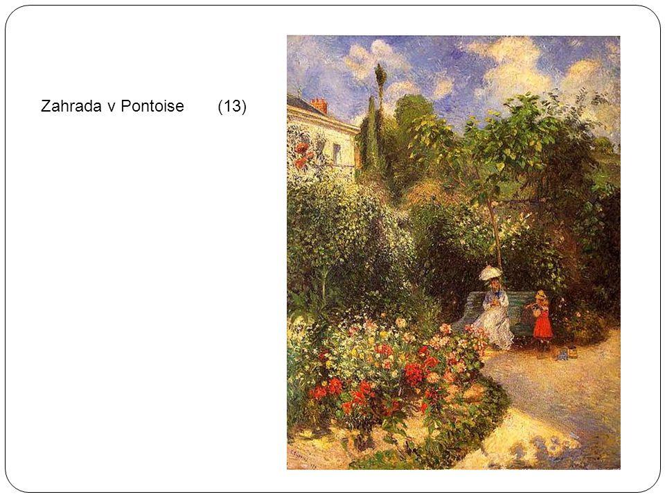 Zahrada v Pontoise (13)