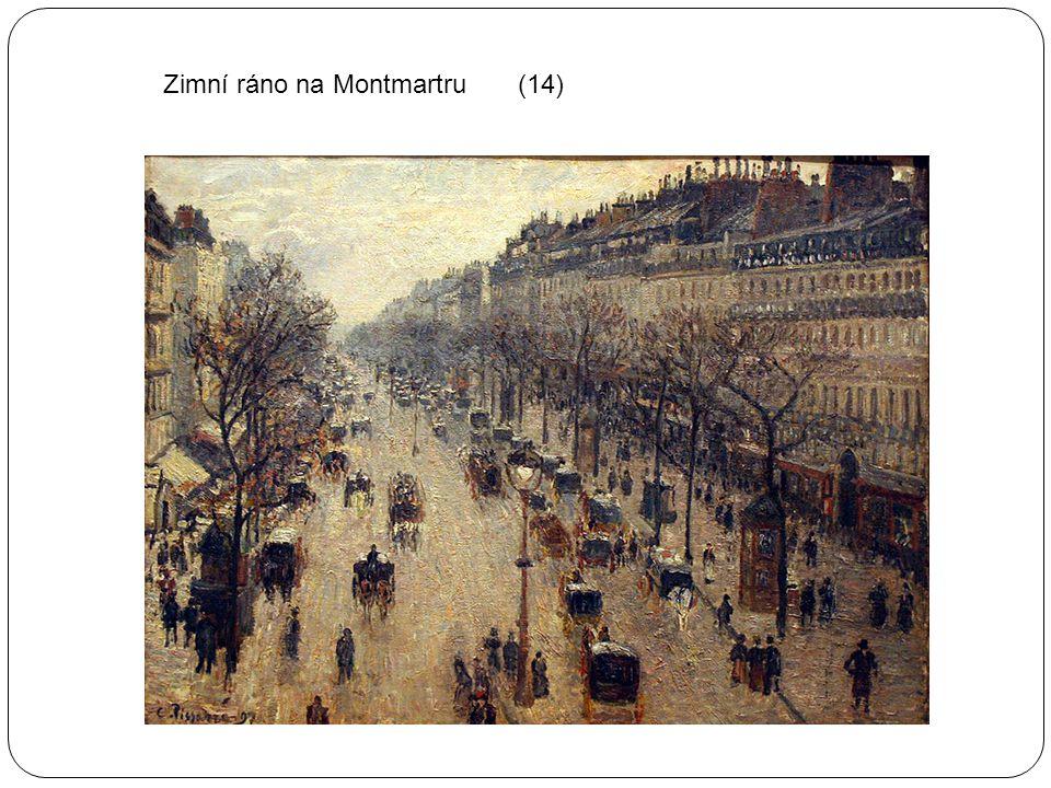 Zimní ráno na Montmartru (14)