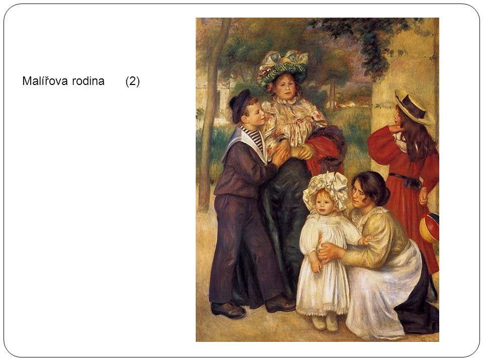 Malířova rodina (2)