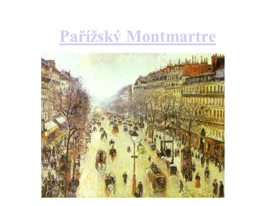 Pařížský Montmartre