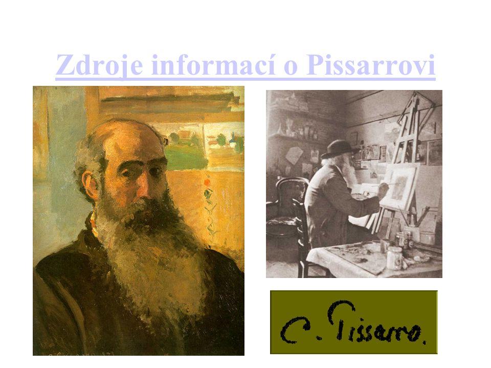 Zdroje informací o Pissarrovi