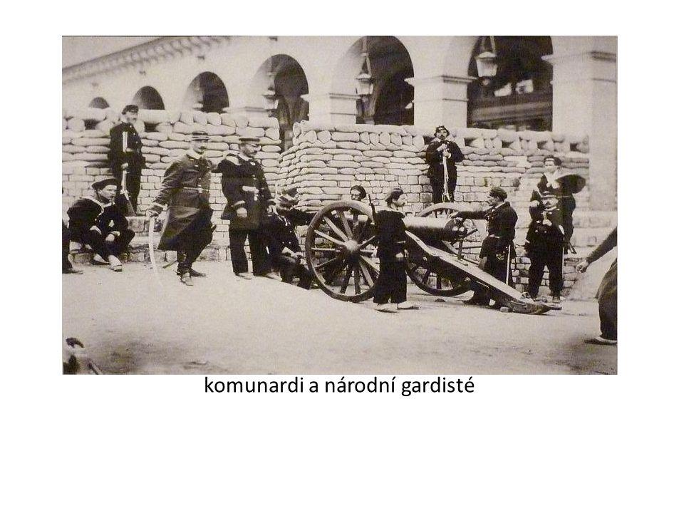 komunardi a národní gardisté