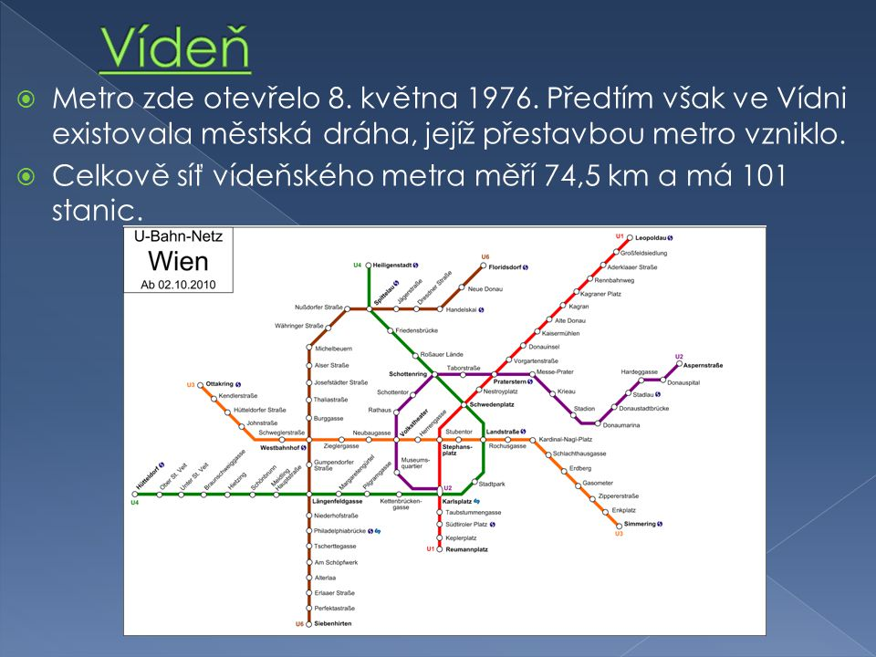  Metro zde otevřelo 8. května 1976.