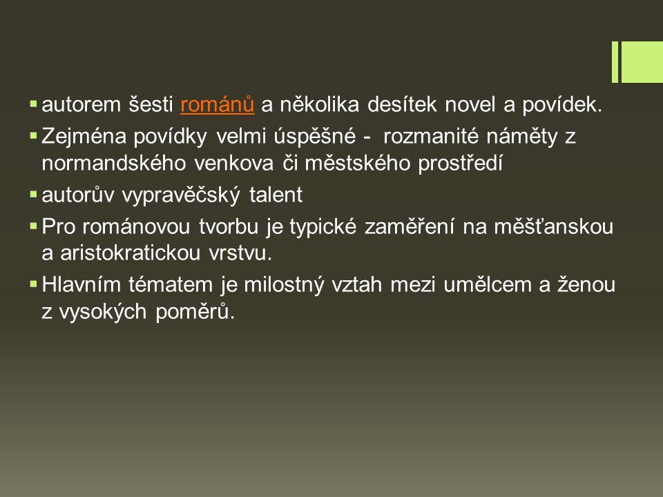  autorem šesti románů a několika desítek novel a povídek.
