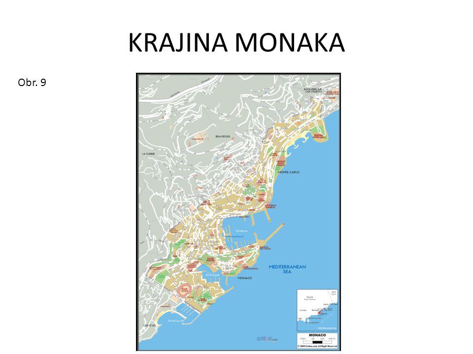 KRAJINA MONAKA Obr. 9