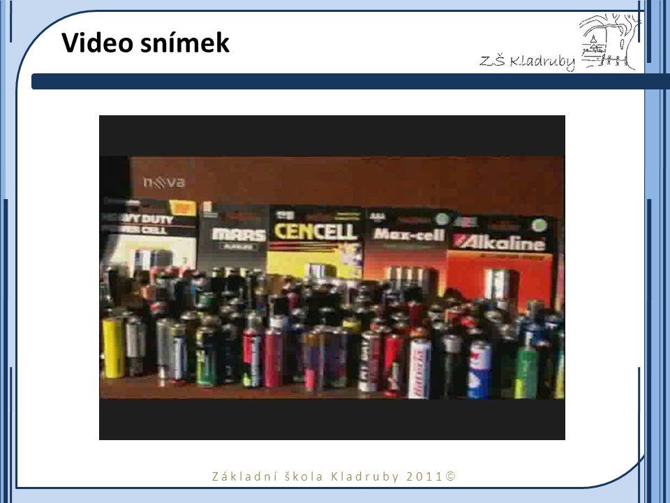 Základní škola Kladruby 2011  Video snímek