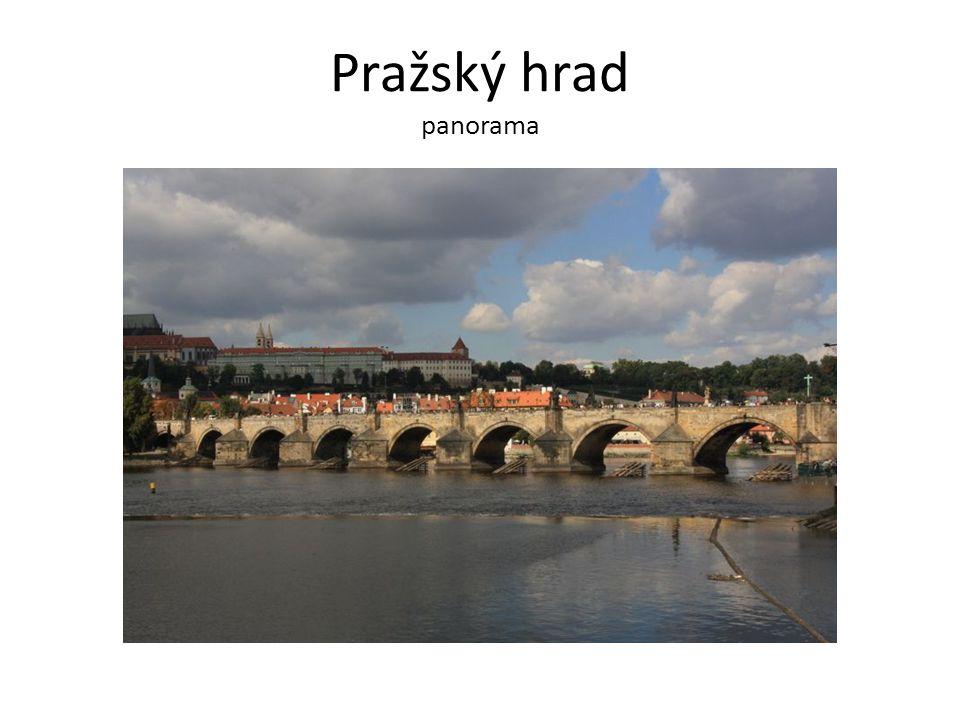 Pražský hrad panorama