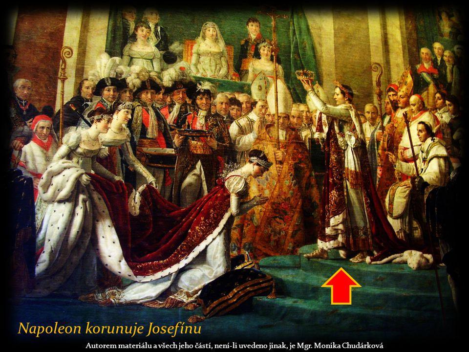 Zahraniční výboje:  zrušil Svatou říši římskou  obnovil samostatnost Polska  1805 bitva u Slavkova = bitva tří císařů (Francie, Rusko, Rakousko), Napoleon vítězí Autorem materiálu a všech jeho částí, není-li uvedeno jinak, je Mgr.