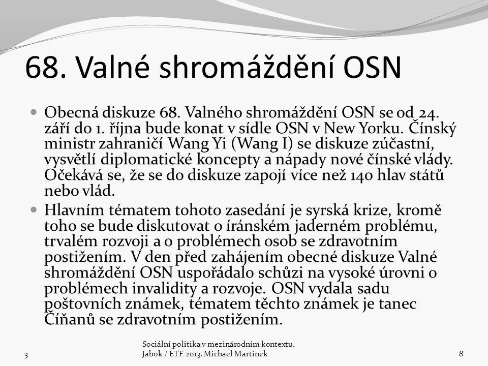 Koncepce zahraniční rozvojové spolupráce ČR na období 2010-2017 Dokument, schválený vládou usnesením č.