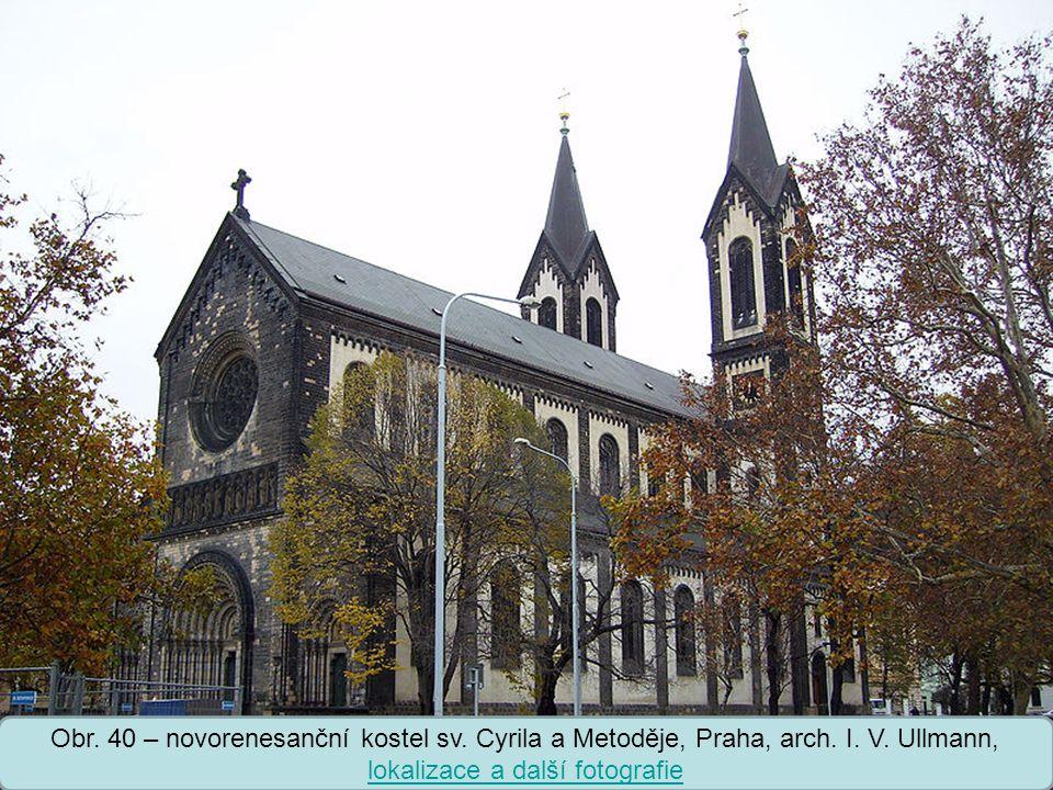 Střední škola Oselce Obr.40 – novorenesanční kostel sv.