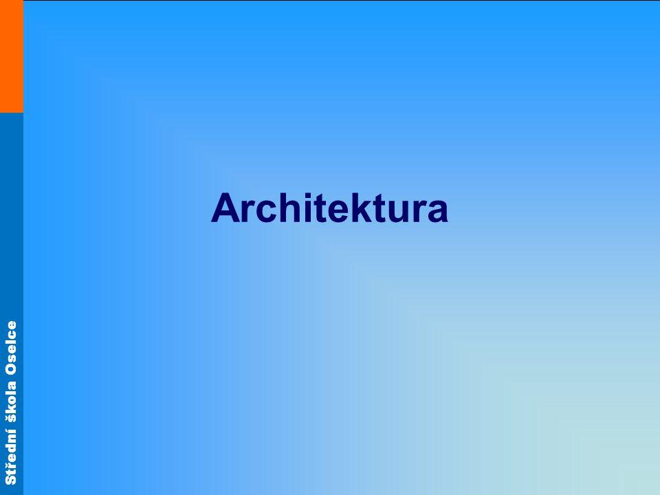 Střední škola Oselce Architektura