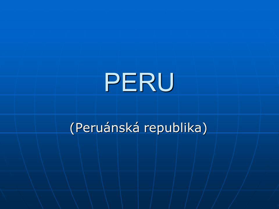 PERU (Peruánská republika)