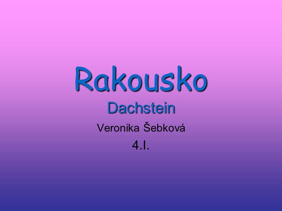 Rakousko Dachstein Veronika Šebková 4.I.