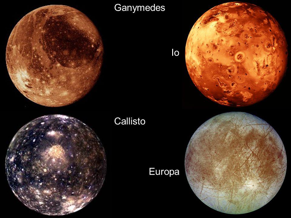 Ganymedes Io Callisto Europa