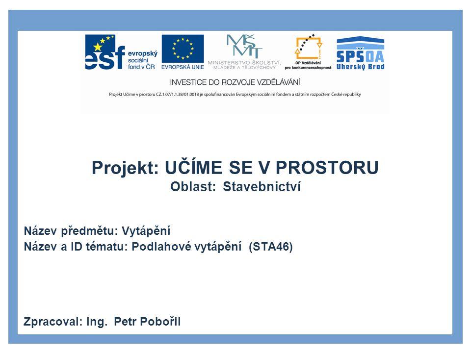 PROJEKTOVÁNÍ 22 1 Doc.Ing. BAŠTA Jiří, Ph.D. TZB-info.