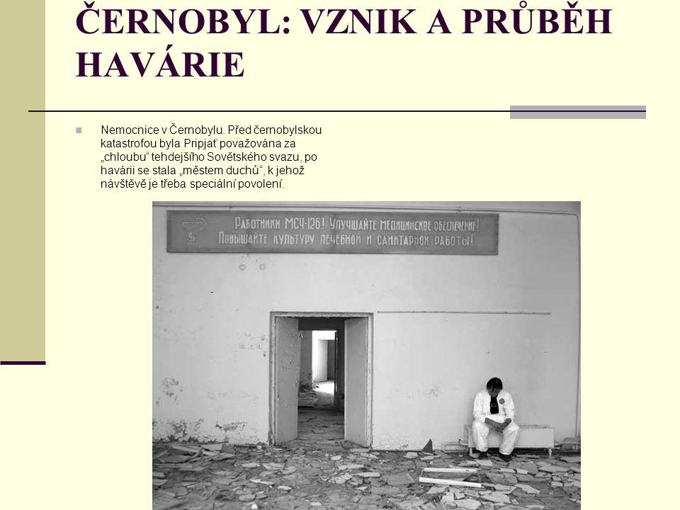 """ČERNOBYL: VZNIK A PRŮBĚH HAVÁRIE Nemocnice v Černobylu. Před černobylskou katastrofou byla Pripjať považována za """"chloubu"""" tehdejšího Sovětského svazu"""