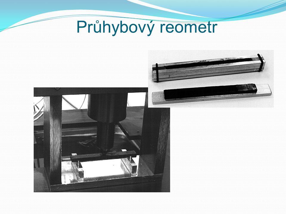 Průhybový reometr