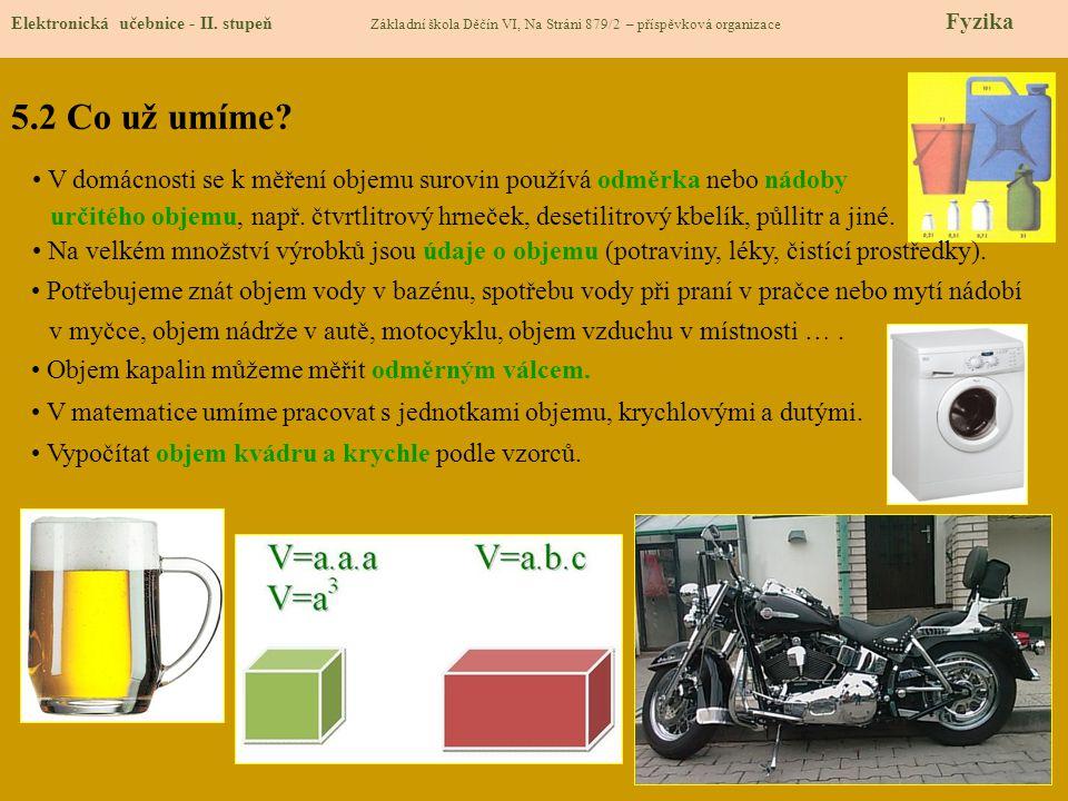 5.3 Nové pojmy Elektronická učebnice - II.