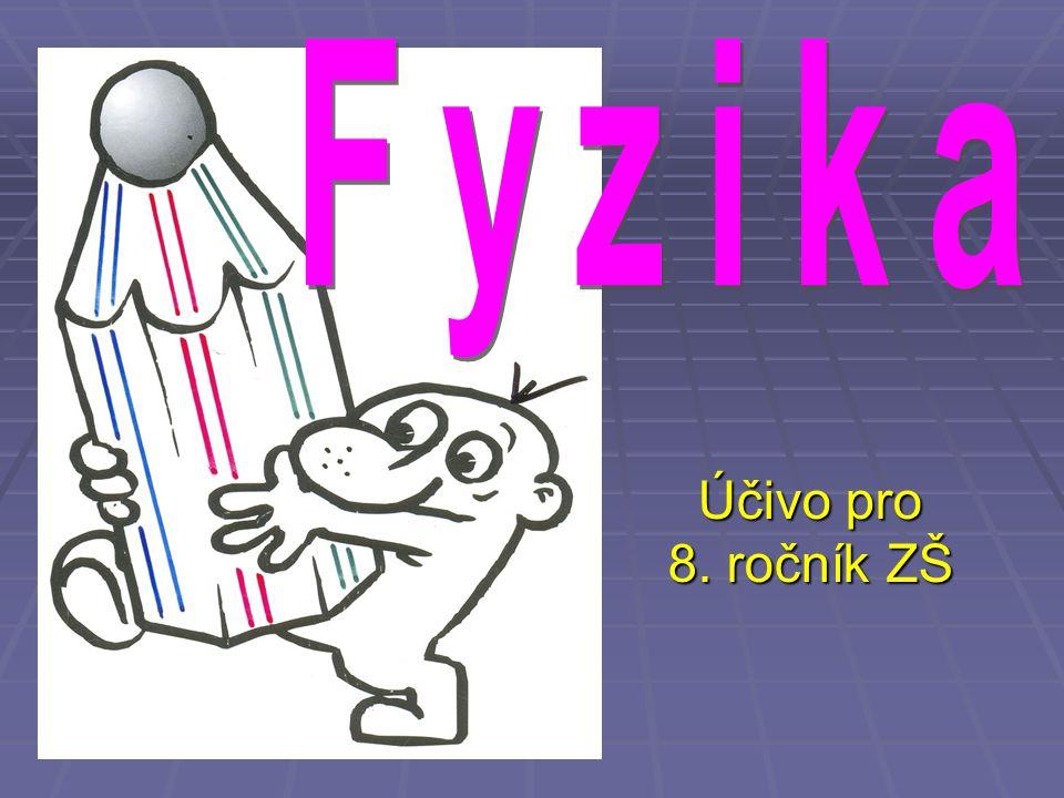 Účivo pro 8. ročník ZŠ