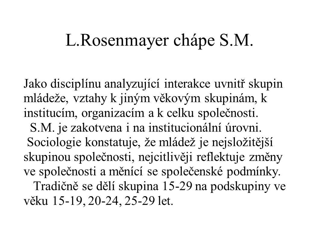 L.Rosenmayer chápe S.M.