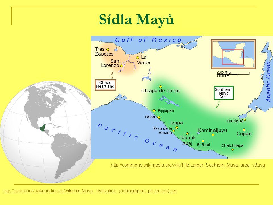 Aztécký kalendář http://commons.wikimedia.org/wiki/File:Aztec_calendar_on_Amate.jpg - rituální a sluneční (18 měsíců po 20 dnech a 5 dnů nešťastných) - kamenný, ve středu je tvář slunečního boha, kolem nebesa a dny http://commons.wikimedia.org/wiki/File:Aztec_Sun_Stone_Replica_cropped.jpg