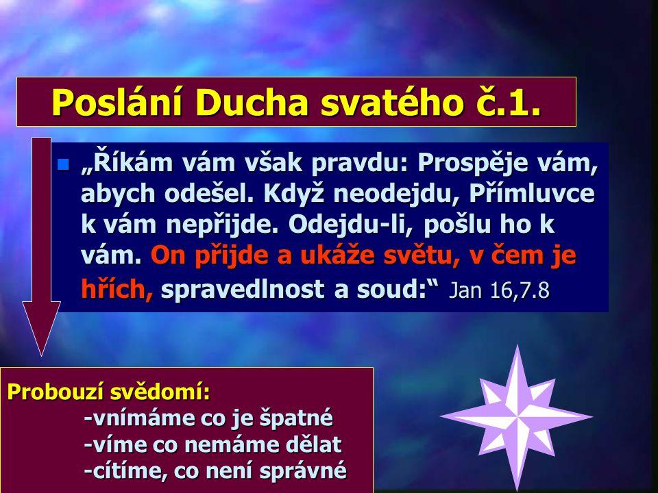 """Duch svatý = Bůh n """".. proč satan ovládl tvé srdce, že jsi lhal Duchu svatému. Jak ses mohl odhodlat k tomuto činu? Nelhal jsi lidem, ale Bohu!"""" Sk 5,"""