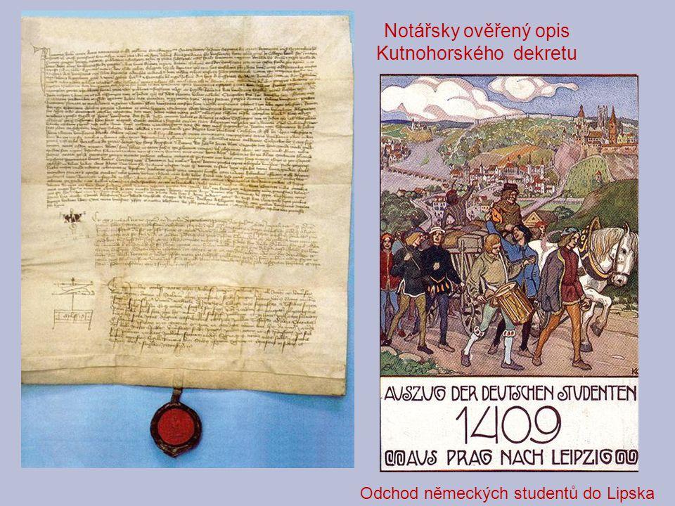 Část Husova dopisu z Kostnice 10.6.1415...Prosím pánóv, aby své chudině milostivě činili a právě ji spravovali.