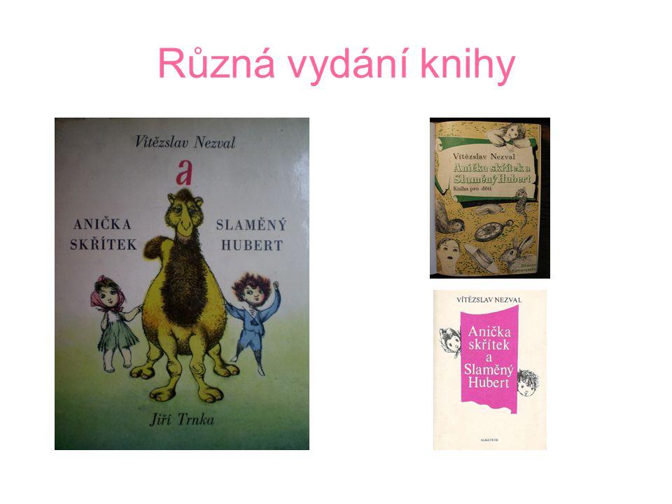 Tvorba pro děti Věci, květiny, zvířátka a lidé pro děti Anička Skřítek a slaměný Hubert