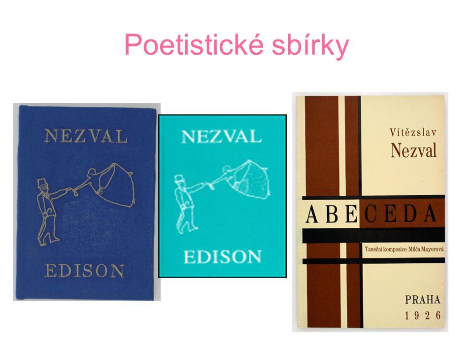 Poetistické období Současně s prvotinou Most vznikla sbírka básní Podivuhodný kouzelník a později další sbírky psané v duchu poetismu – Pantomina a Ed
