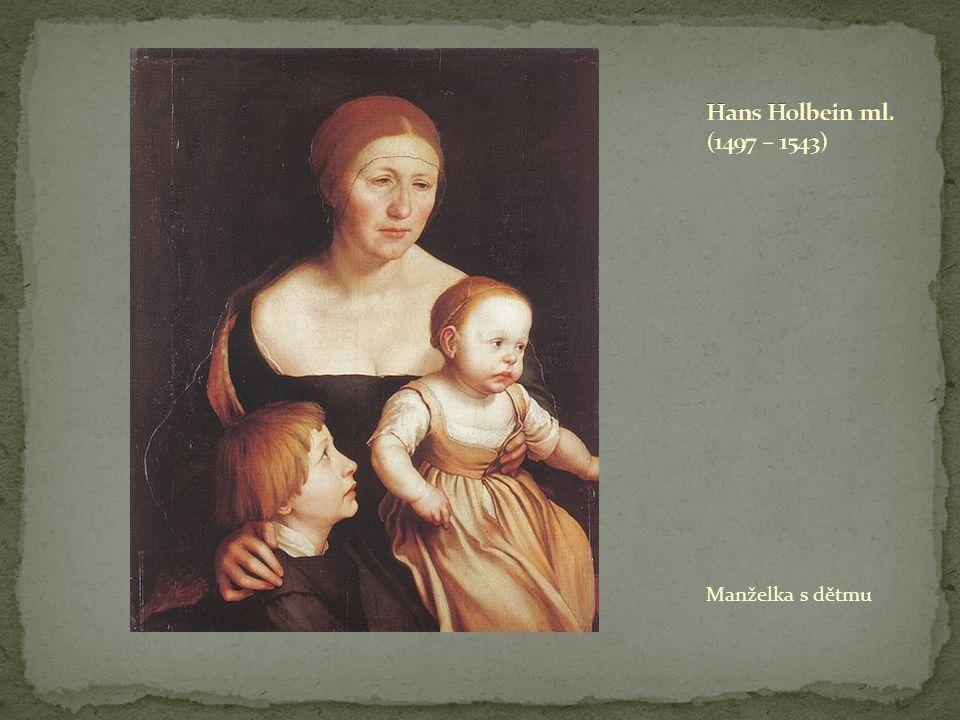 Manželka s dětmu