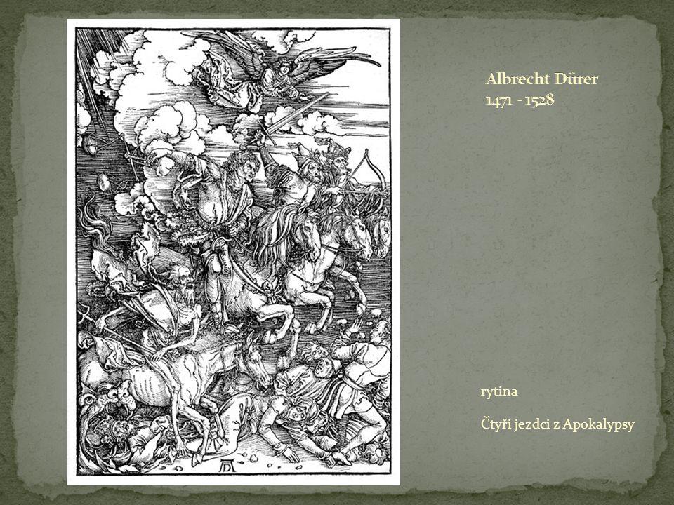rytina Čtyři jezdci z Apokalypsy