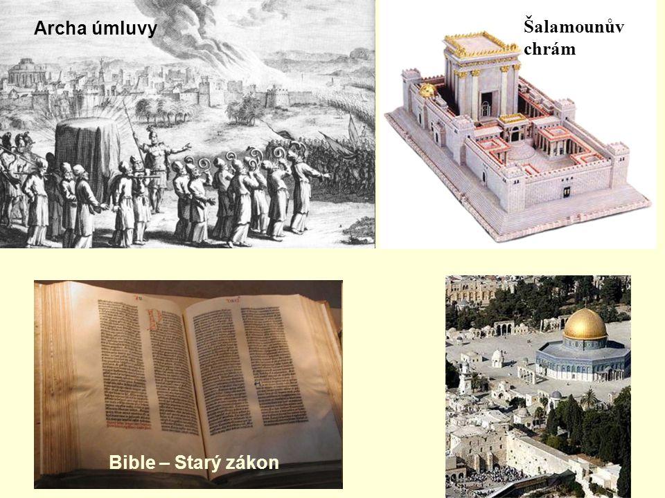 Šalamounův chrám Archa úmluvy Bible – Starý zákon
