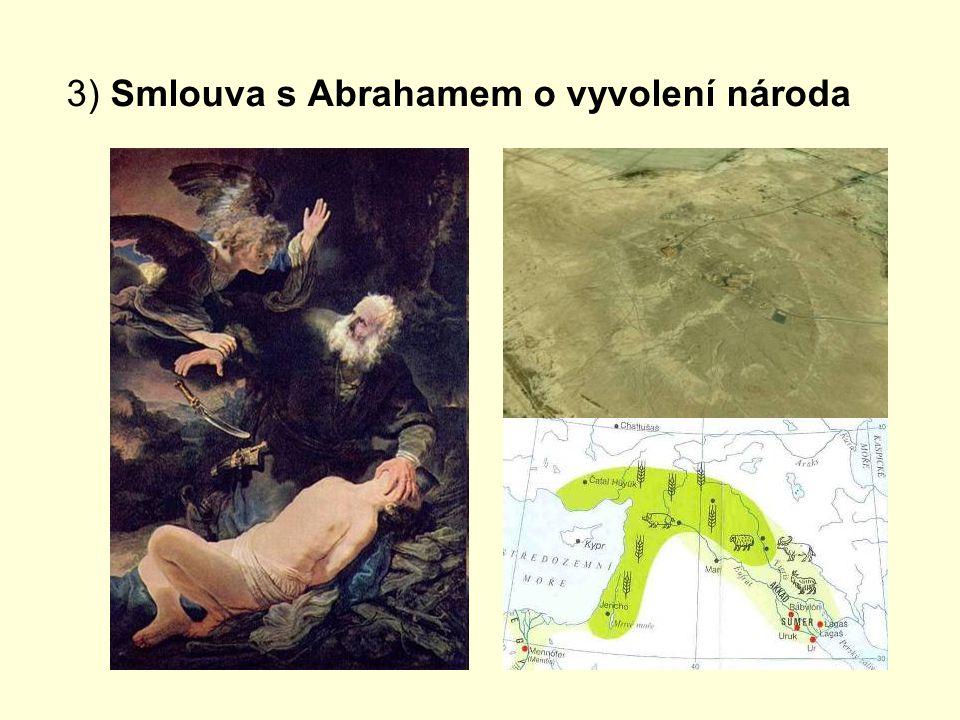 4) Smlouva s Mojžíšem: Desatero, Archa úmluvy, zaslíbení země