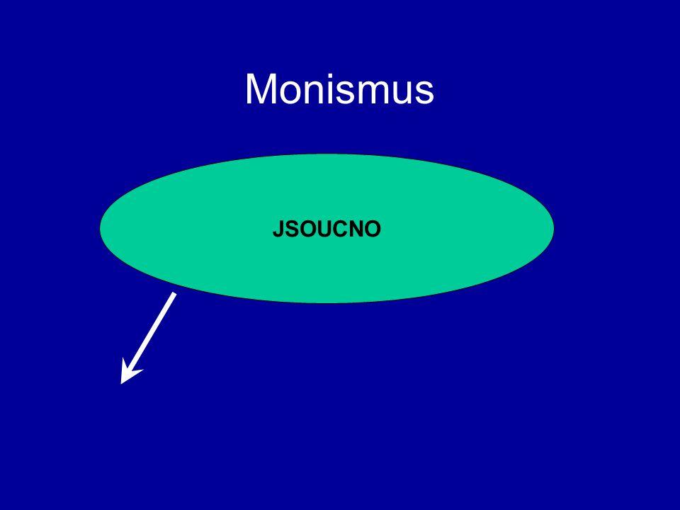 Monismus JSOUCNO