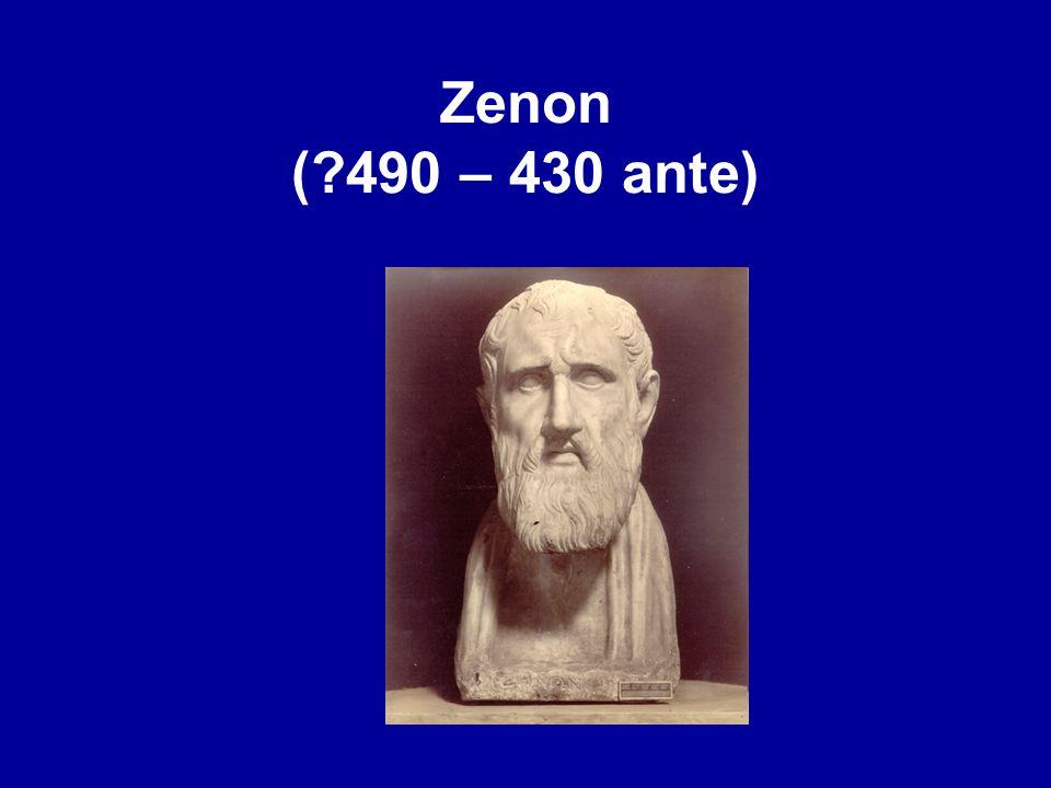 Zenon (?490 – 430 ante)