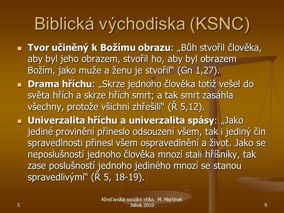 """Biblická východiska (KSNC) Tvor učiněný k Božímu obrazu: """"Bůh stvořil člověka, aby byl jeho obrazem, stvořil ho, aby byl obrazem Božím, jako muže a že"""