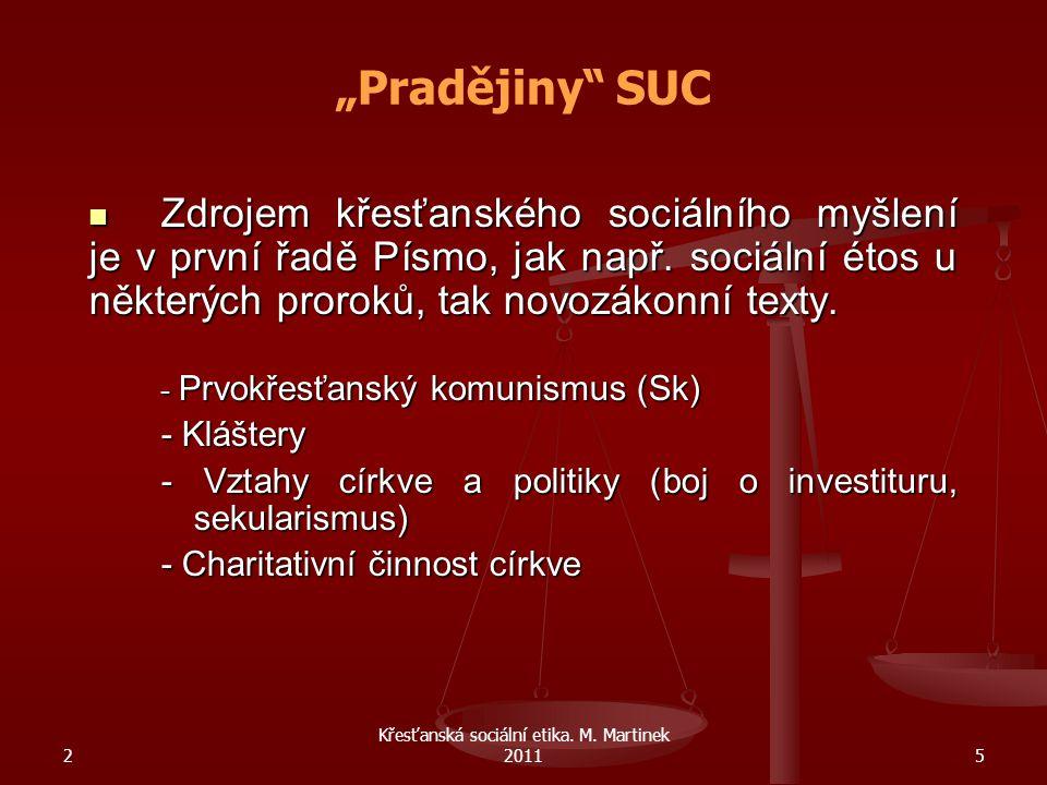 2 Křesťanská sociální etika.M. Martinek 201136 Centesimus annus Encyklika Jana Pavla II.