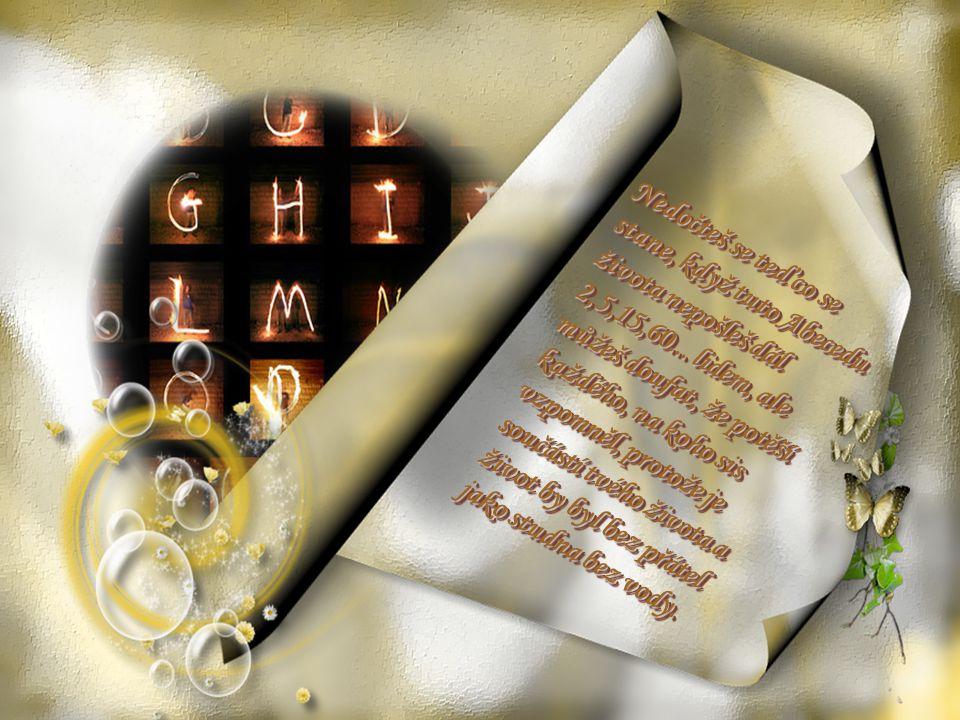Z je ZEMŘÍT a tak tedy, zet je konec abecedy... Z je ZEMŘÍT a tak tedy, zet je konec abecedy...