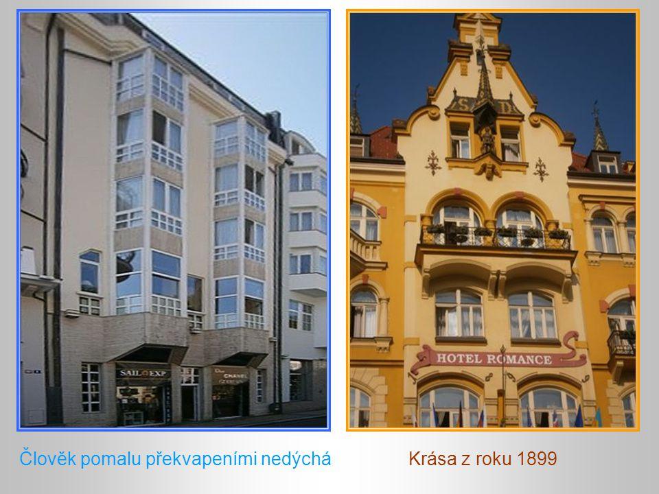 Dům Čajkovskij – zázračná proměna Domy na Zámeckém vrchu Promenáda v plném slunci