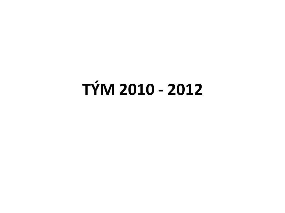 TÝM 2010 - 2012