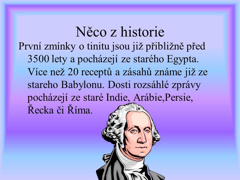 Něco z historie První zmínky o tinitu jsou již přibližně před 3500 lety a pocházejí ze starého Egypta.
