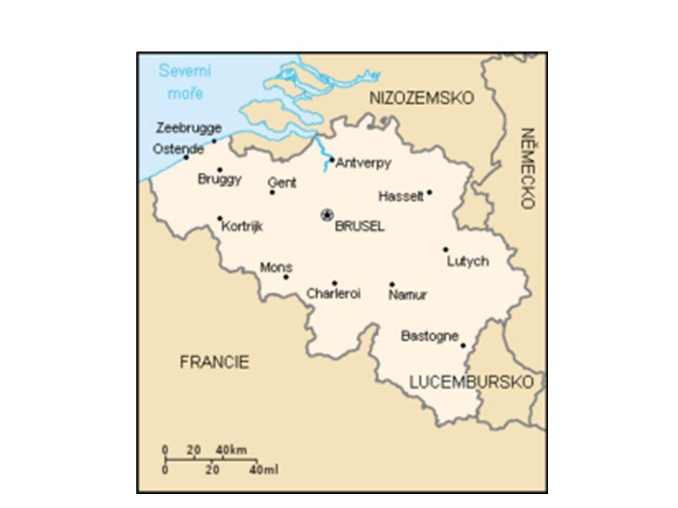 VZNIK BELGIE Nizozemské království – sever - protestanti (Holanďané) -jih – katolíci (Vlámové, Valóni) – nerovnoprávné postavení, ohlas revoluce ve Francii – lidové povstání r.1830.