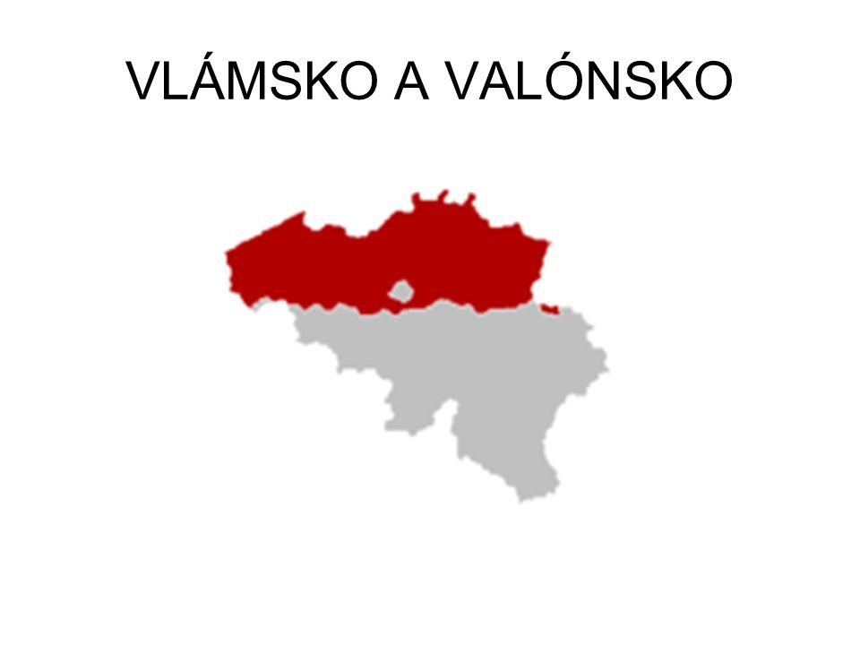 VLÁMSKO A VALÓNSKO