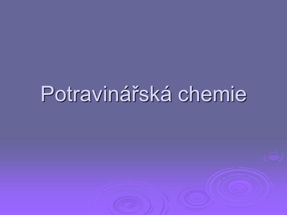 Potravinářská chemie
