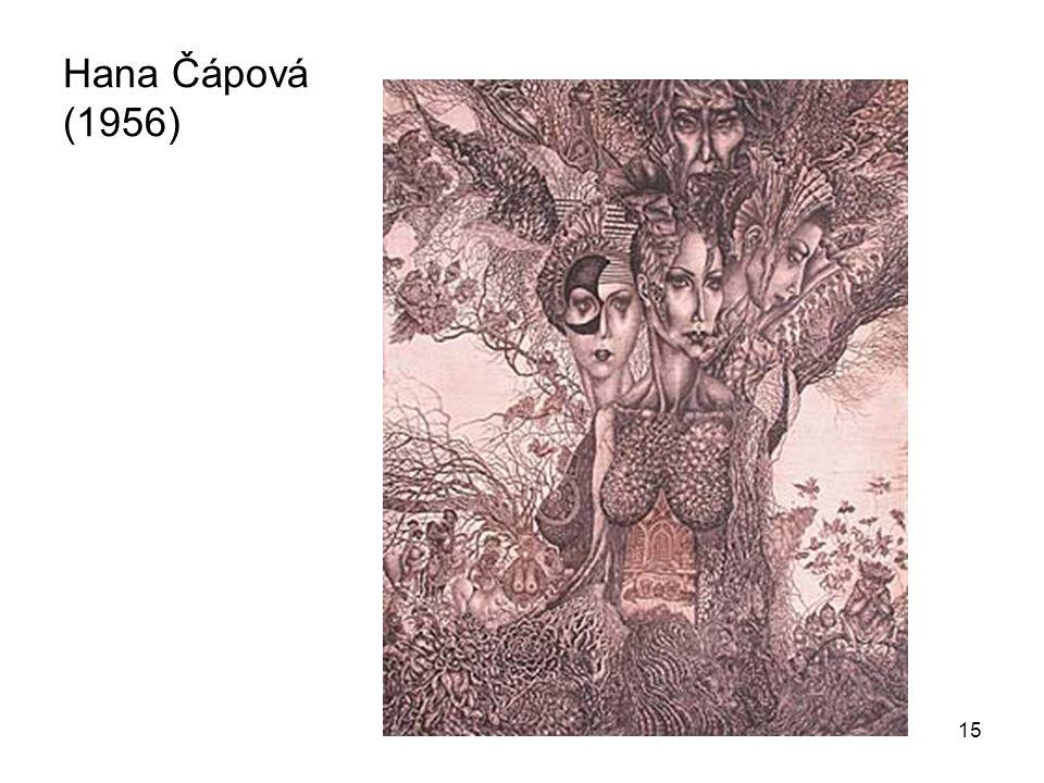 15 Hana Čápová (1956)