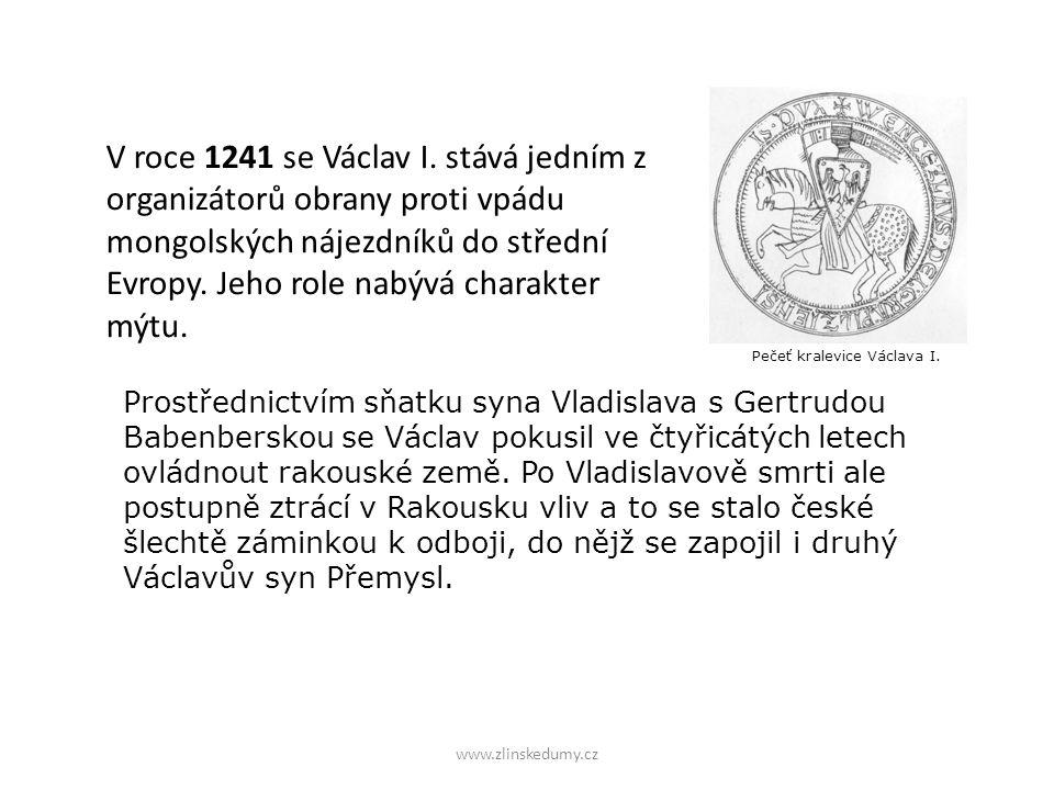 V roce 1241 se Václav I.
