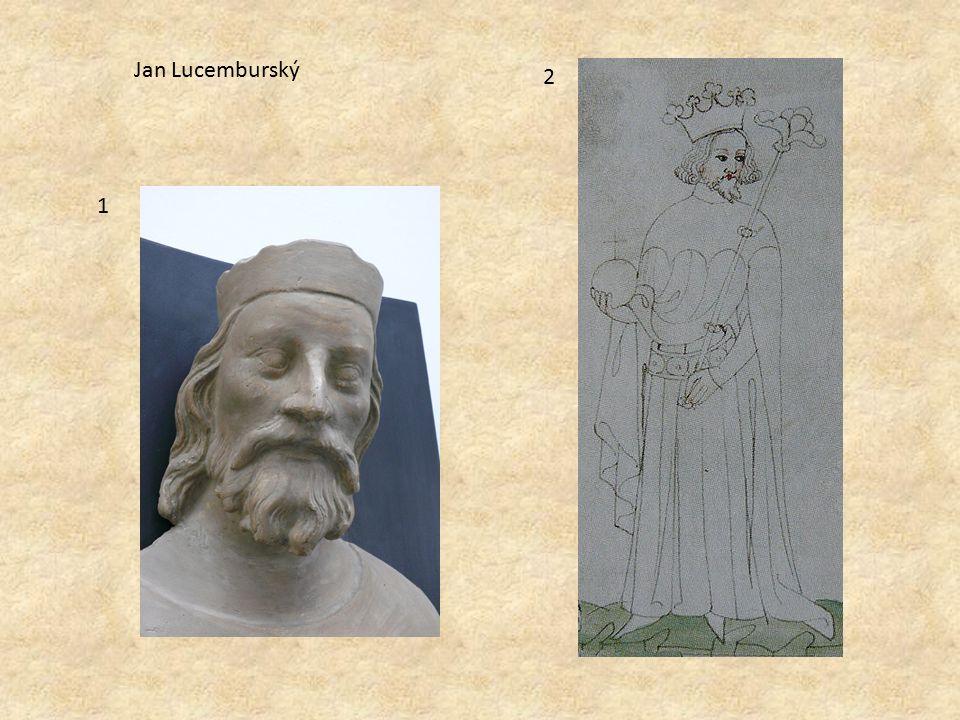 1 2 Jan Lucemburský