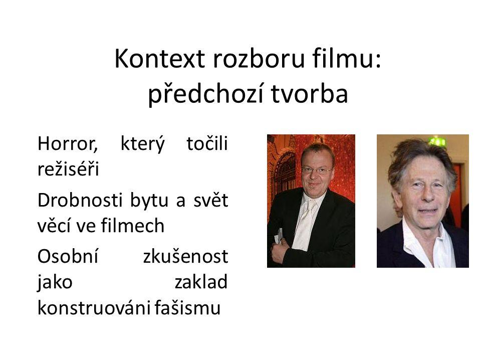 Kontext předlohy ve filmu